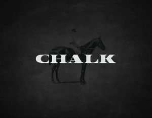Chalk logo with Horse